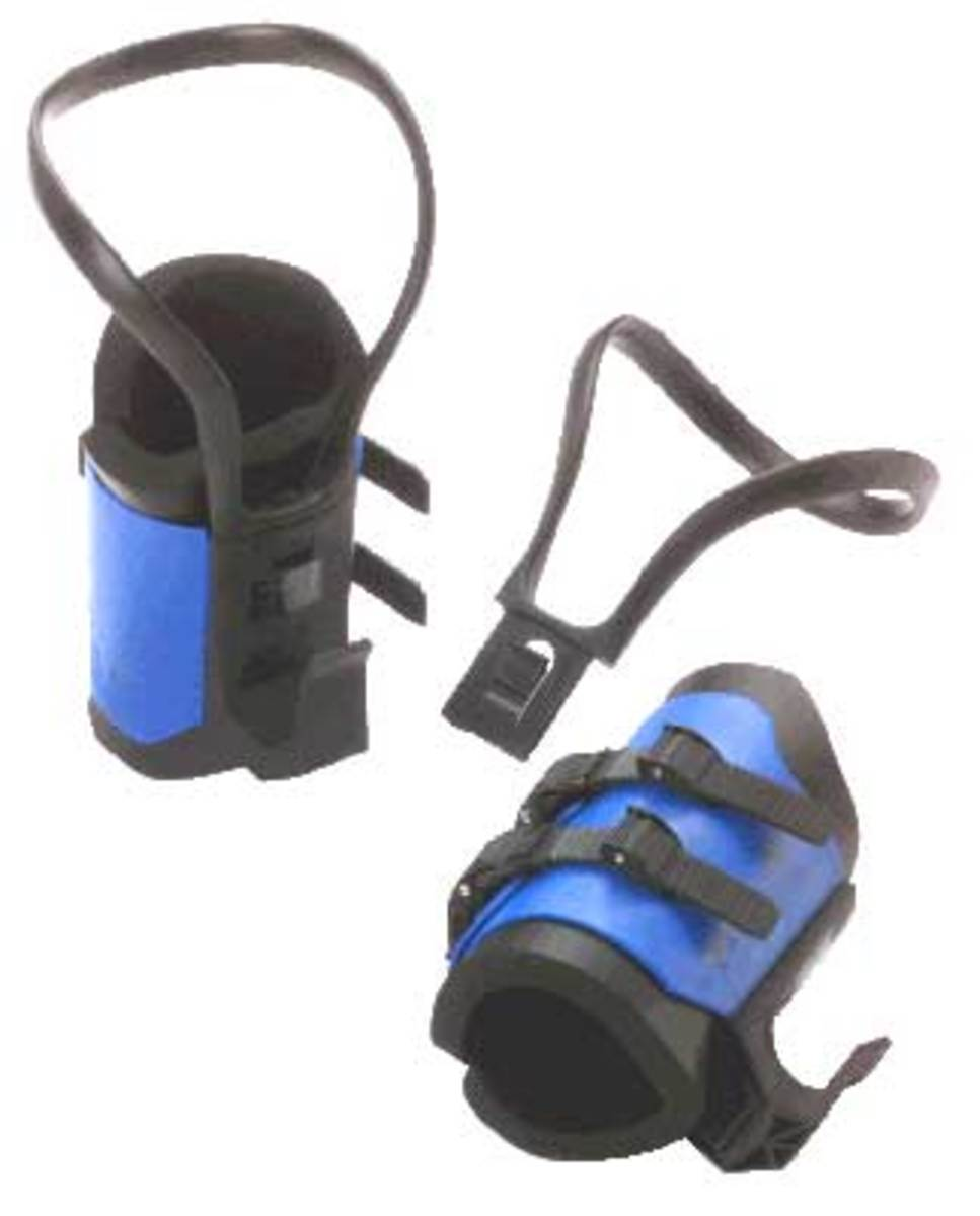 This is what my Teeter Hang Ups Inversion Boots Look like.