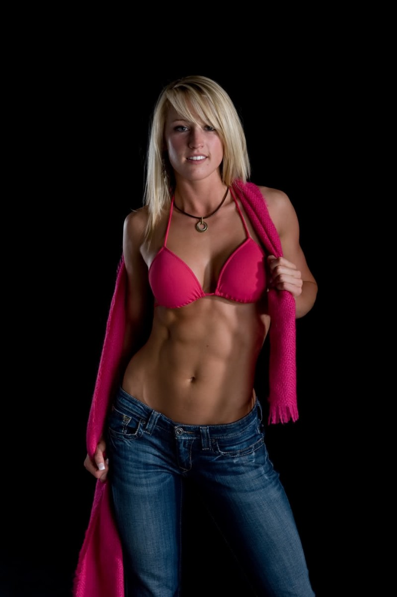 Aubrie Richeson - Female Fitness Model