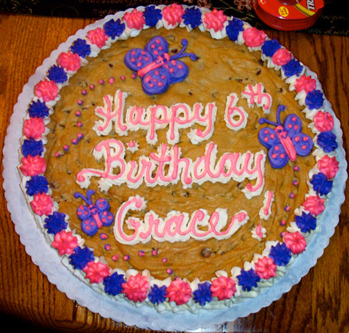 How To Make Giant Cookie Birthday Cakes