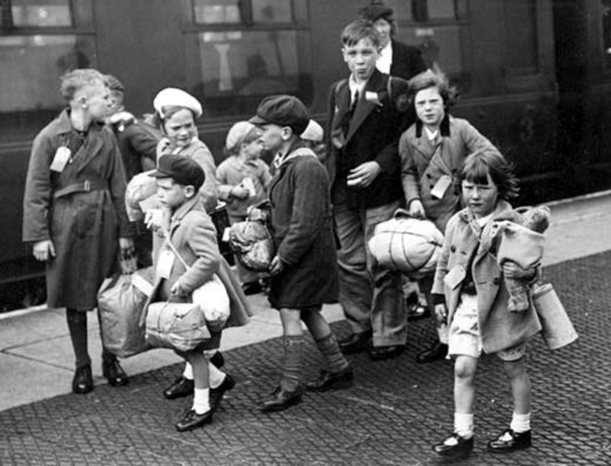 Working Class Life in the 1940s - The Evacuation of the Children