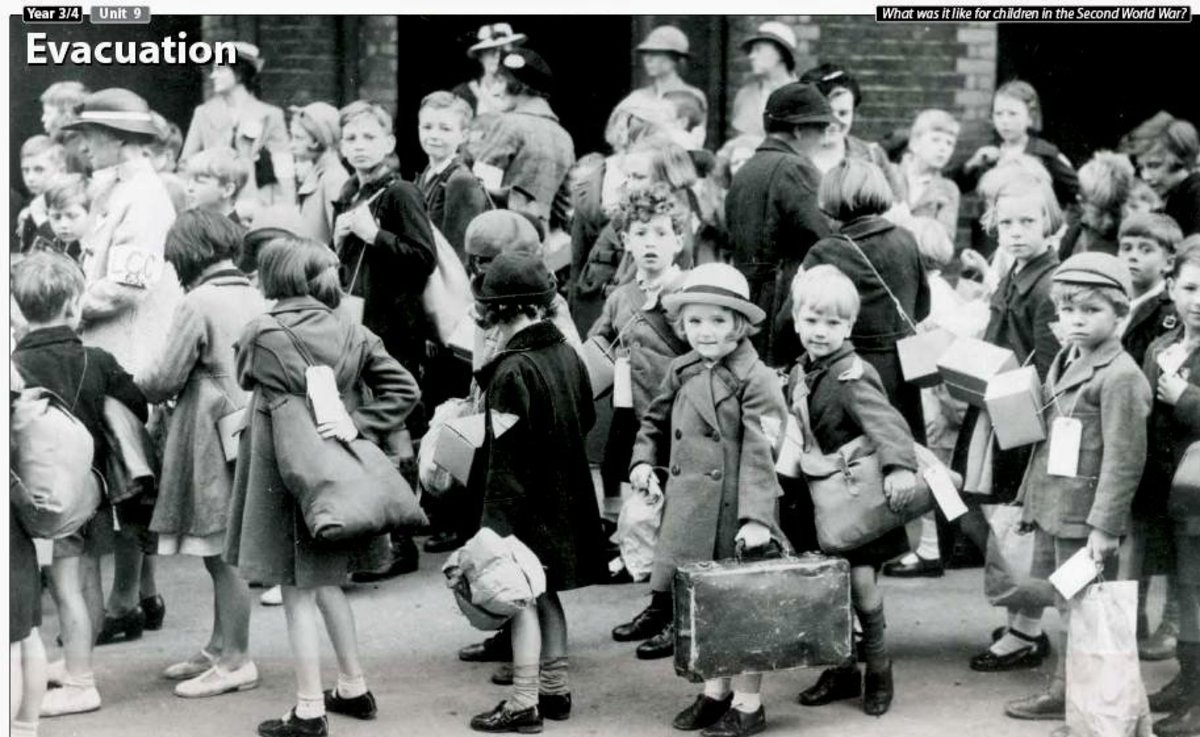 These children are probably from better off homes from the look of their clothing and belongings.