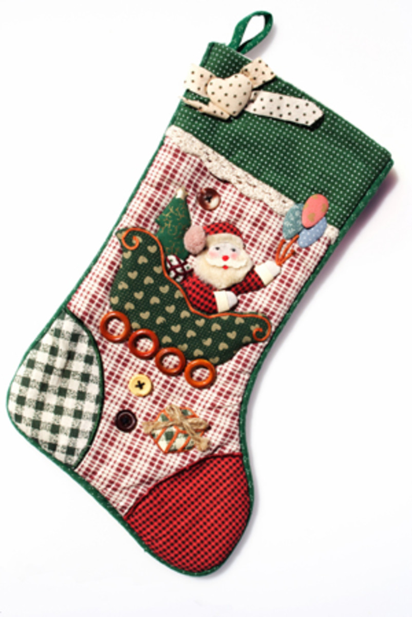 Quilted christmas stocking pattern christmas stocking patterns