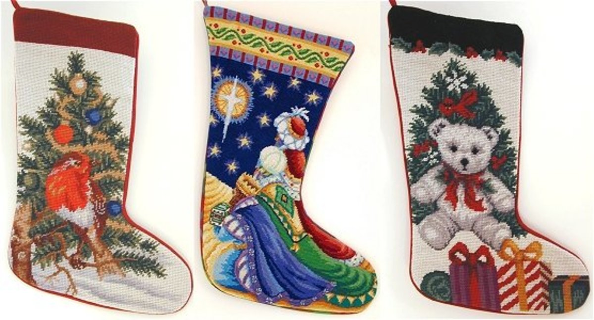 Needlepoint christmas stocking kits to make - Сhristmas day special