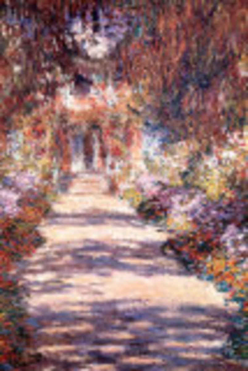 A Poem About A Monet Painting 'Le Jardin'