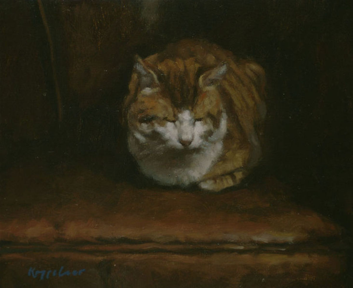 Tom Cat by Frans Koppelaar, 2005. Image courtesy of Wiki Commons