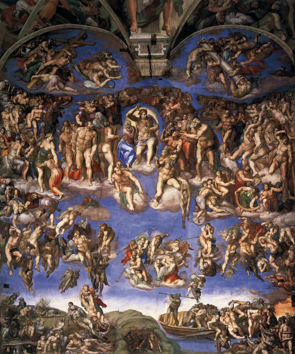 "MICHELANGELO ""THE LAST JUDGMENT"" 1541 (VATICAN, ROME)"