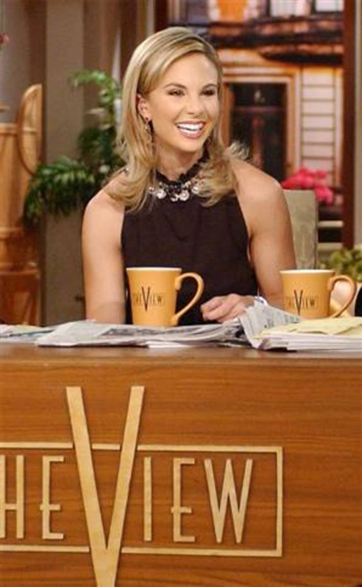 Elizabeth Hasselbeck On The View Lives Gluten Free