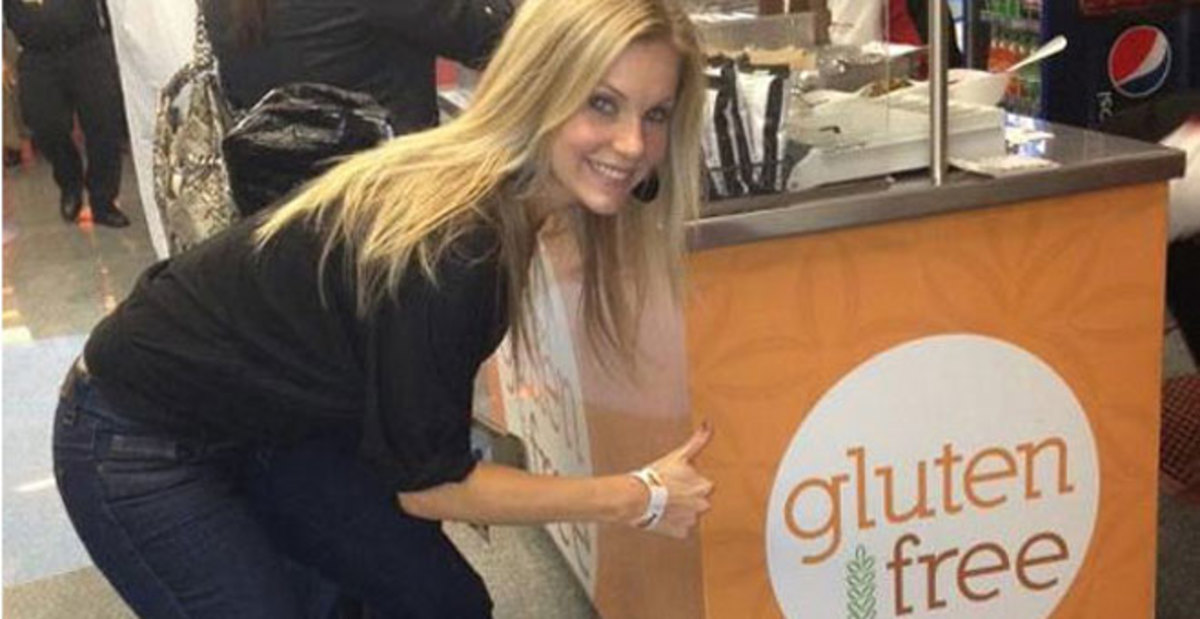 Shannon Ford, Mrs America lives gluten free, has Celiac disease