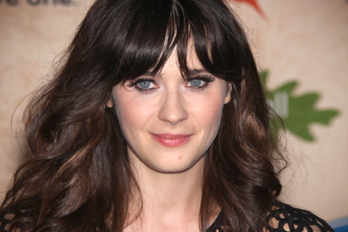 Zooey Deschanel lives gluten free.