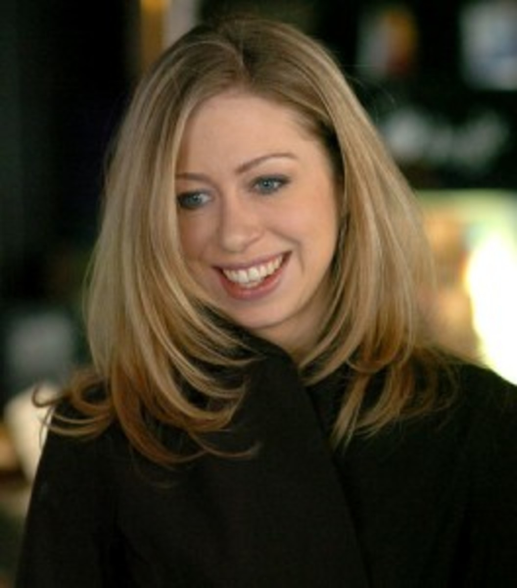 Chelsea Clinton, daughter of former President Bill Clinton and former Secretary of State Hilary Rodham Clinton has joined the ranks of those living gluten free. Her wedding cake was gluten free as well as the wedding food.