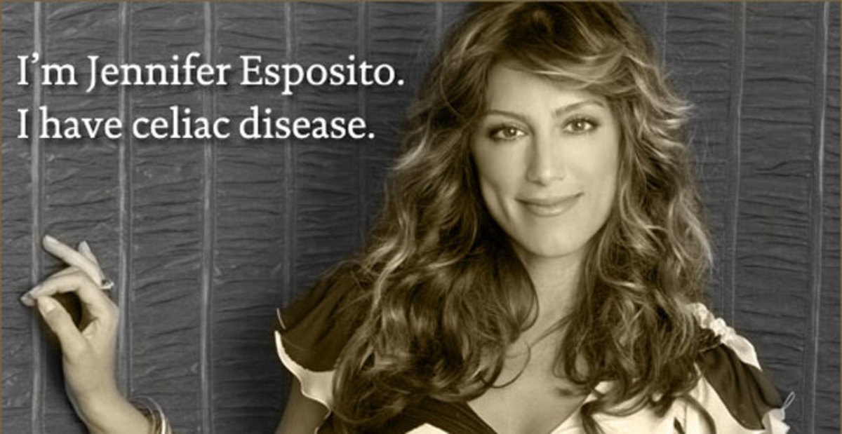 Jennifer Esposito is a popular actress who has been diagnosed with Celiac Disease with a mission.