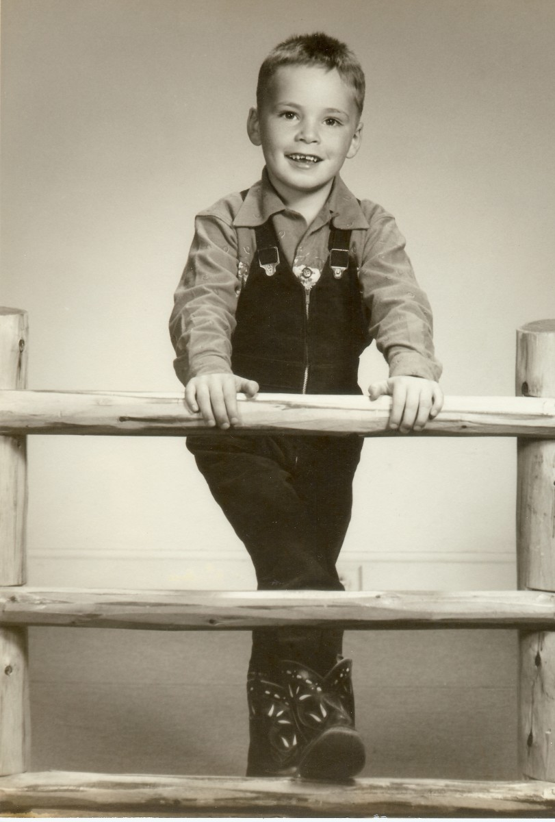 Our childhood photos - My brother Jim