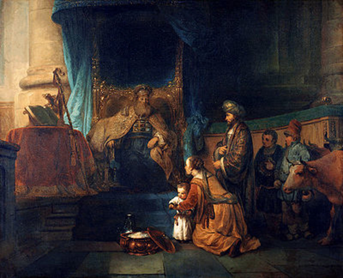 Hannah presents her son Samuel to the priest. Image Credit:Google Images