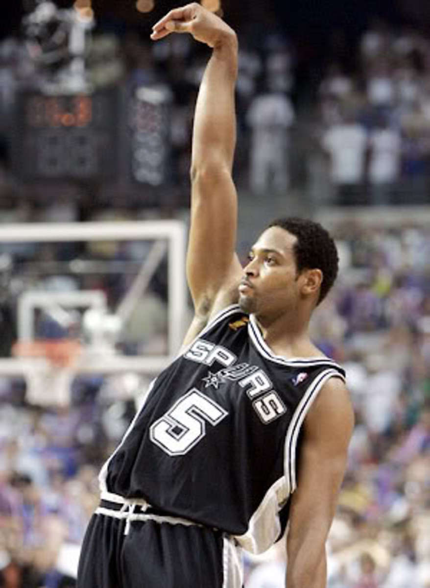 Uh... Robert Horry has 7 titles?  Really?