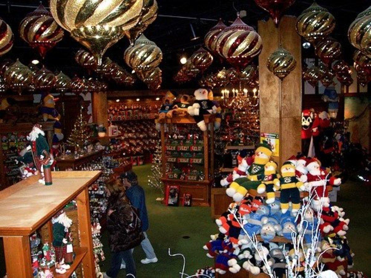 Christmas ornaments galore!