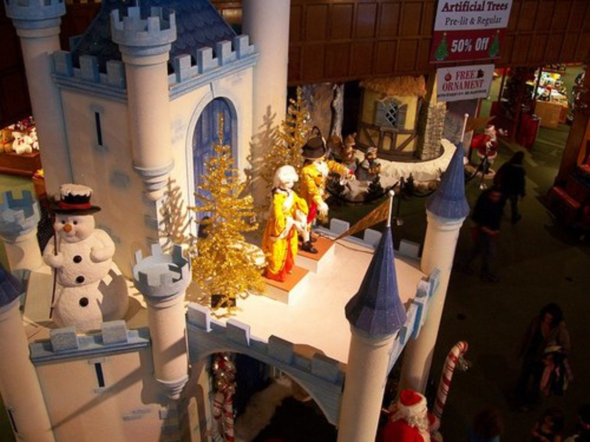 What kid (and an awful lot of adults) wouldn't love this winter castle?