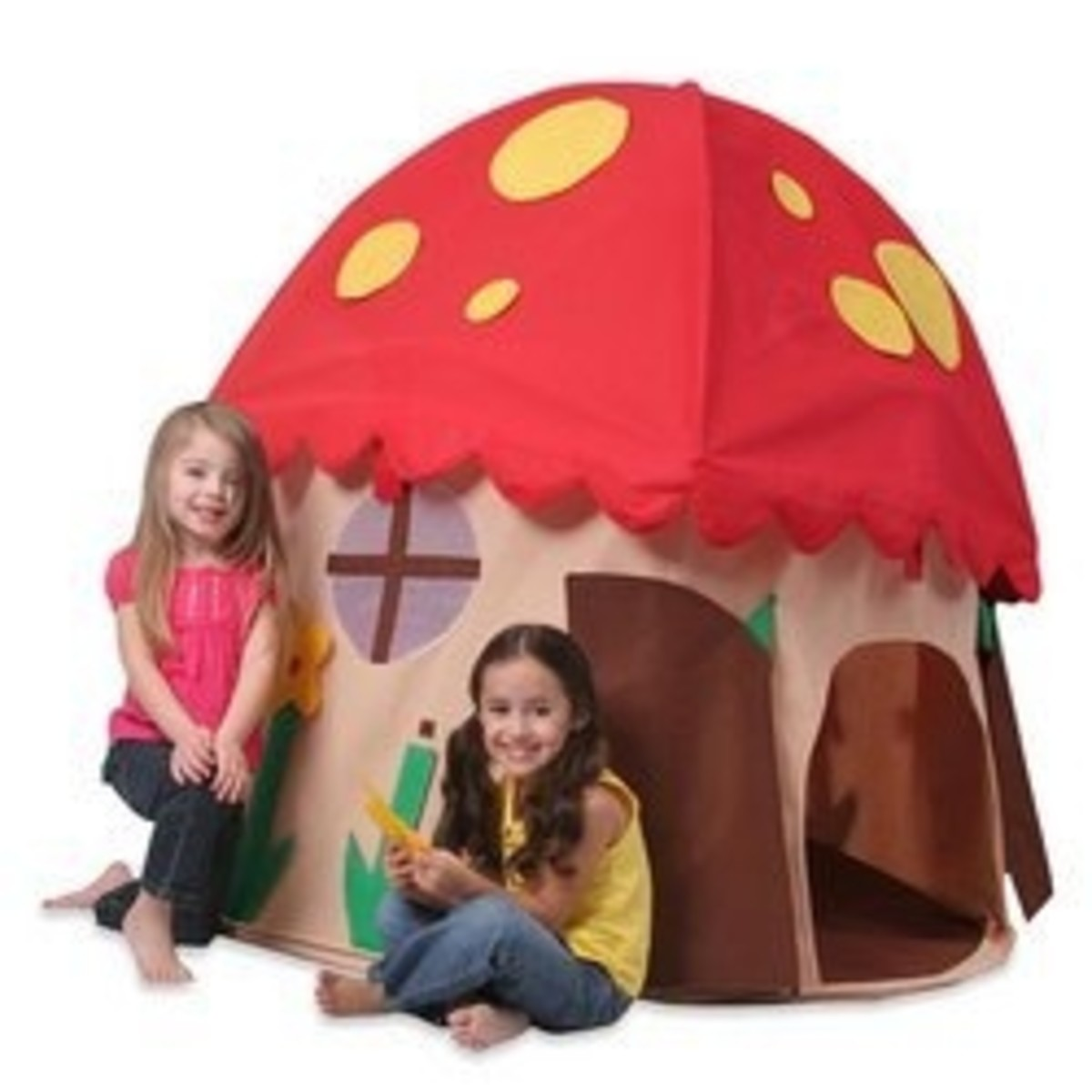 Mushroom House Play Structure