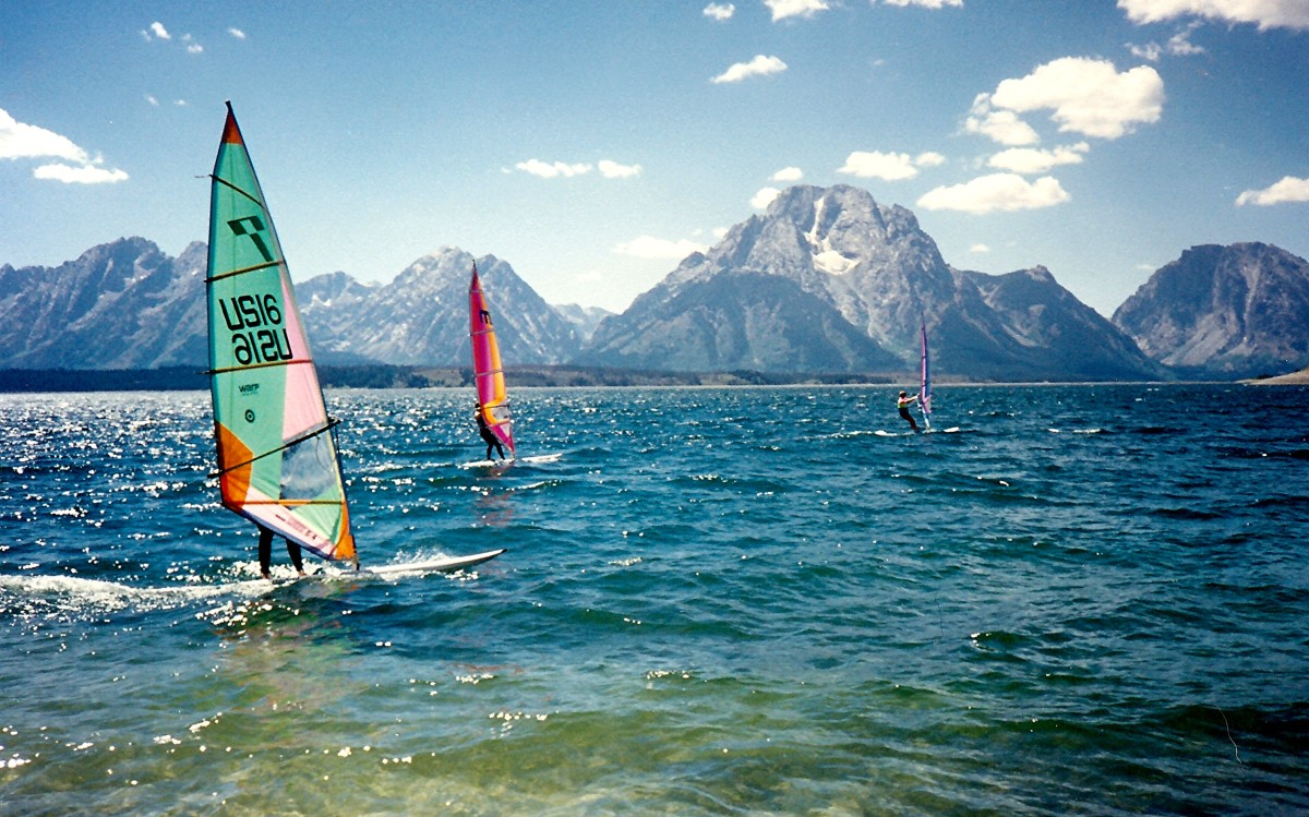 Signal Mountain Boat Ramp: Jackson Lake in Grand Teton National Park