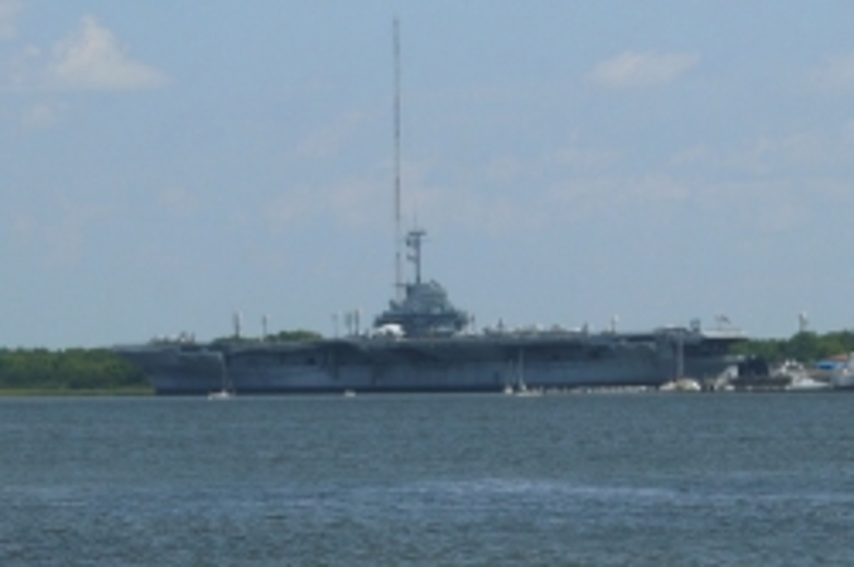 USS Yorktown at Patriot's Point
