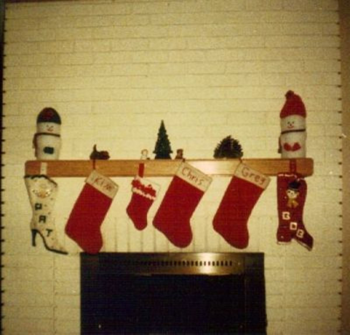And now we are a Family of Five!     (Plus the Cat Stocking :-)