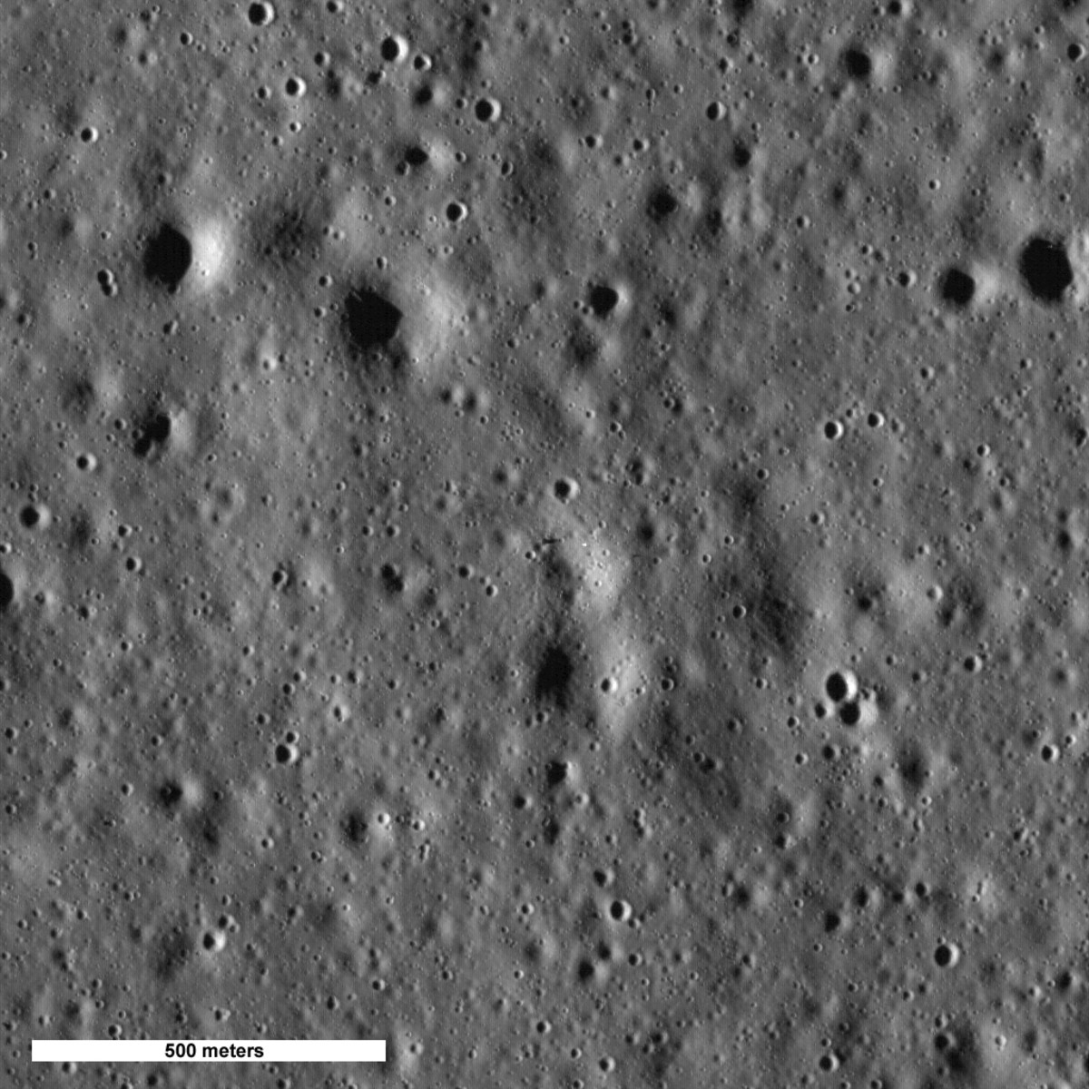 July 2009: First image of Apollo 15 site. Wait, where is it?