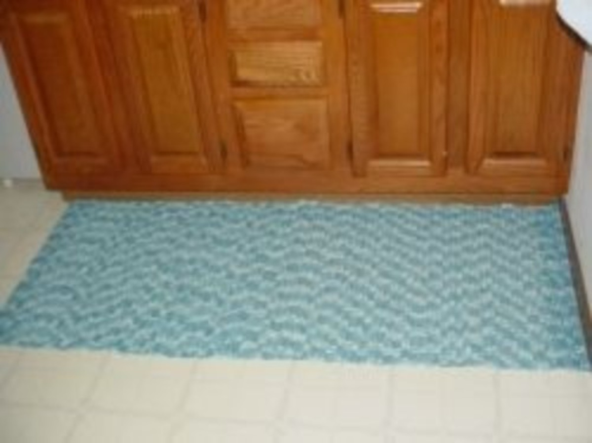 Bathroom Sink Rug