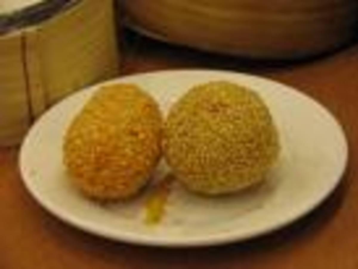 Sweet Sesame buns