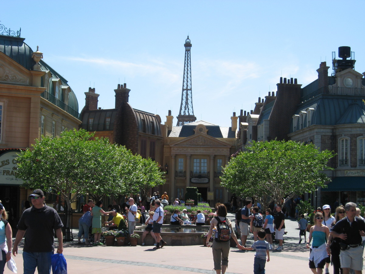 You feel like you're in France, but it is actually Epcot.