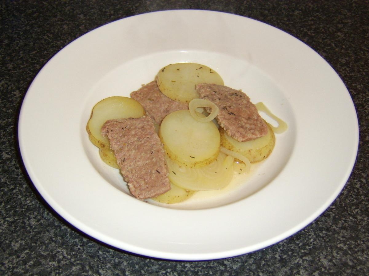 Baked Lorne Sausage Stovies