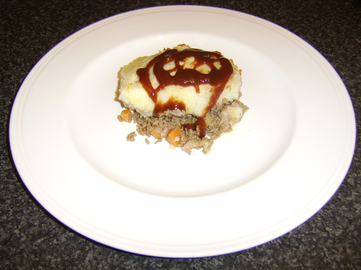 Cottage Pie with HP Sauce