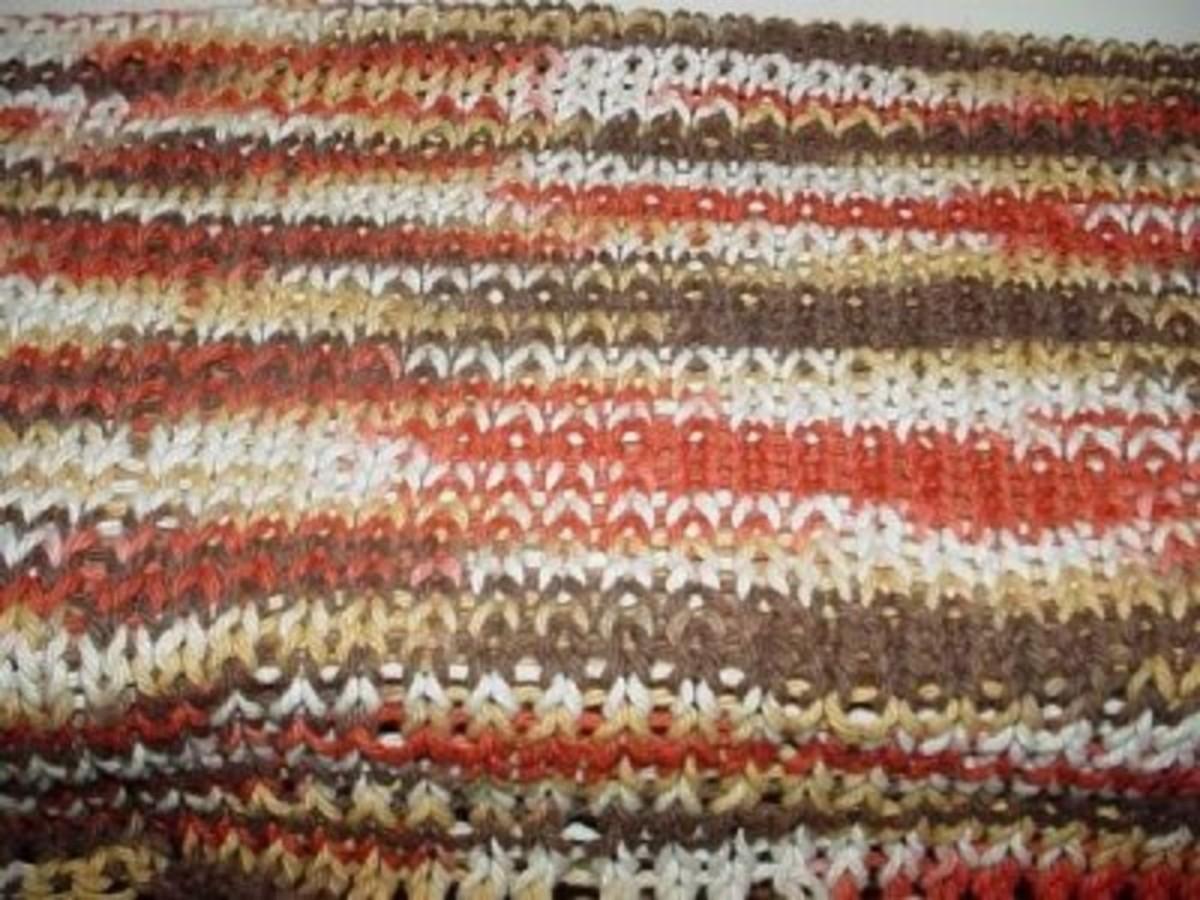 The No Wrap Stitch, a.k.a. Knit Stitch