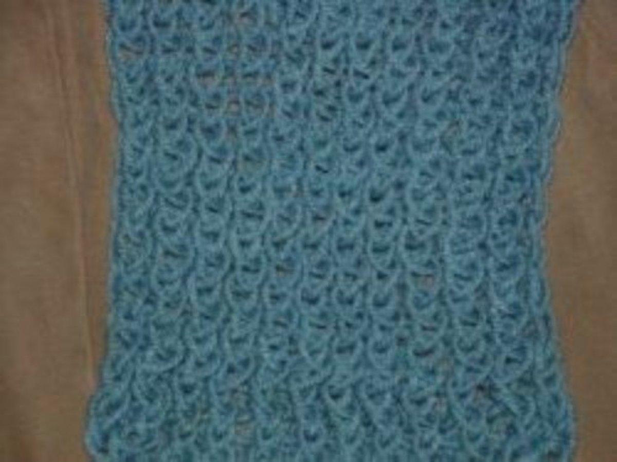 Knifty Knitter Figure 8 Stitch