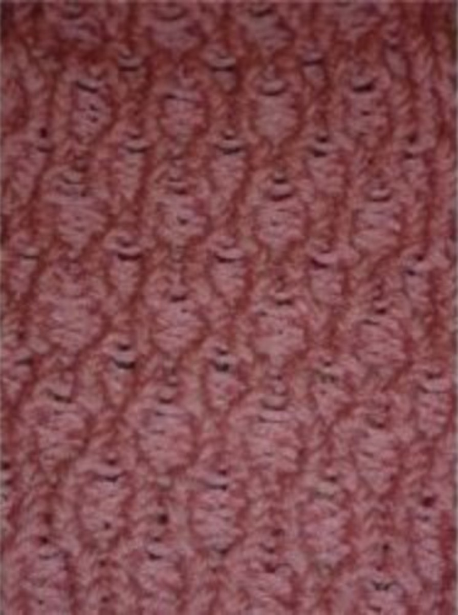Honeycomb Stitch Knifty Knitter Loom