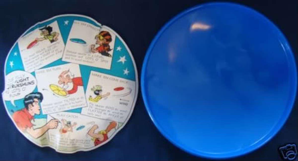 Vintage Frisbee on eBay.