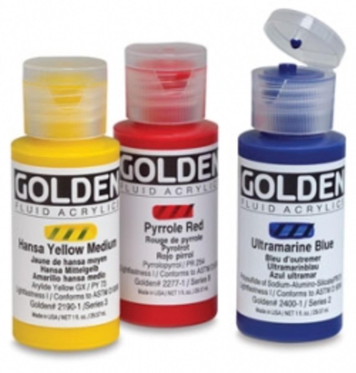 Golden Fluid Acrylic Paint