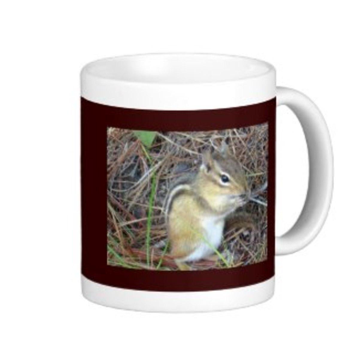 I put this photo on a mug on Zazzle.