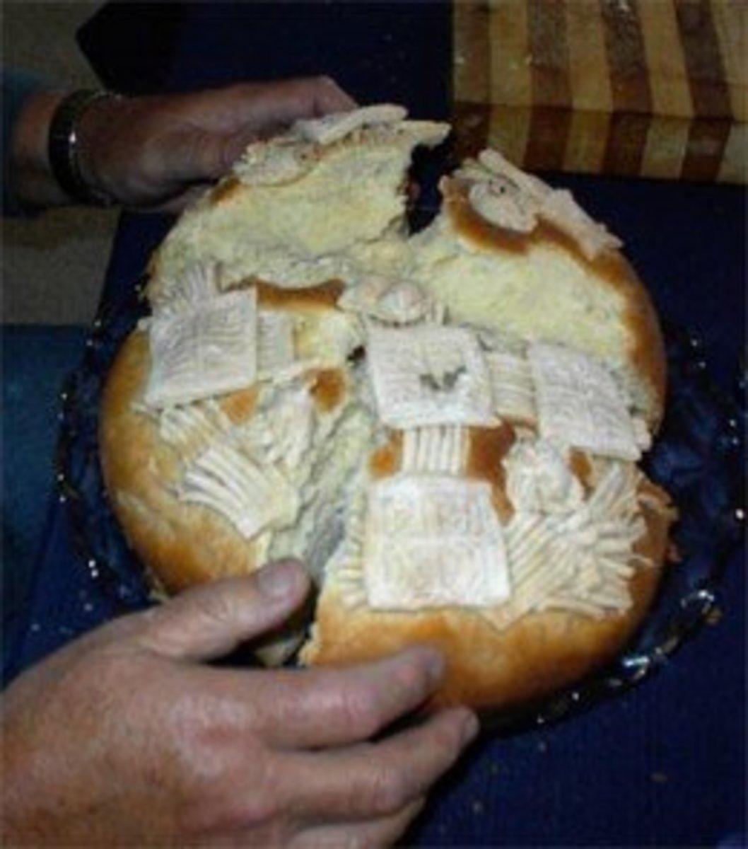 Breaking the Slava Cake