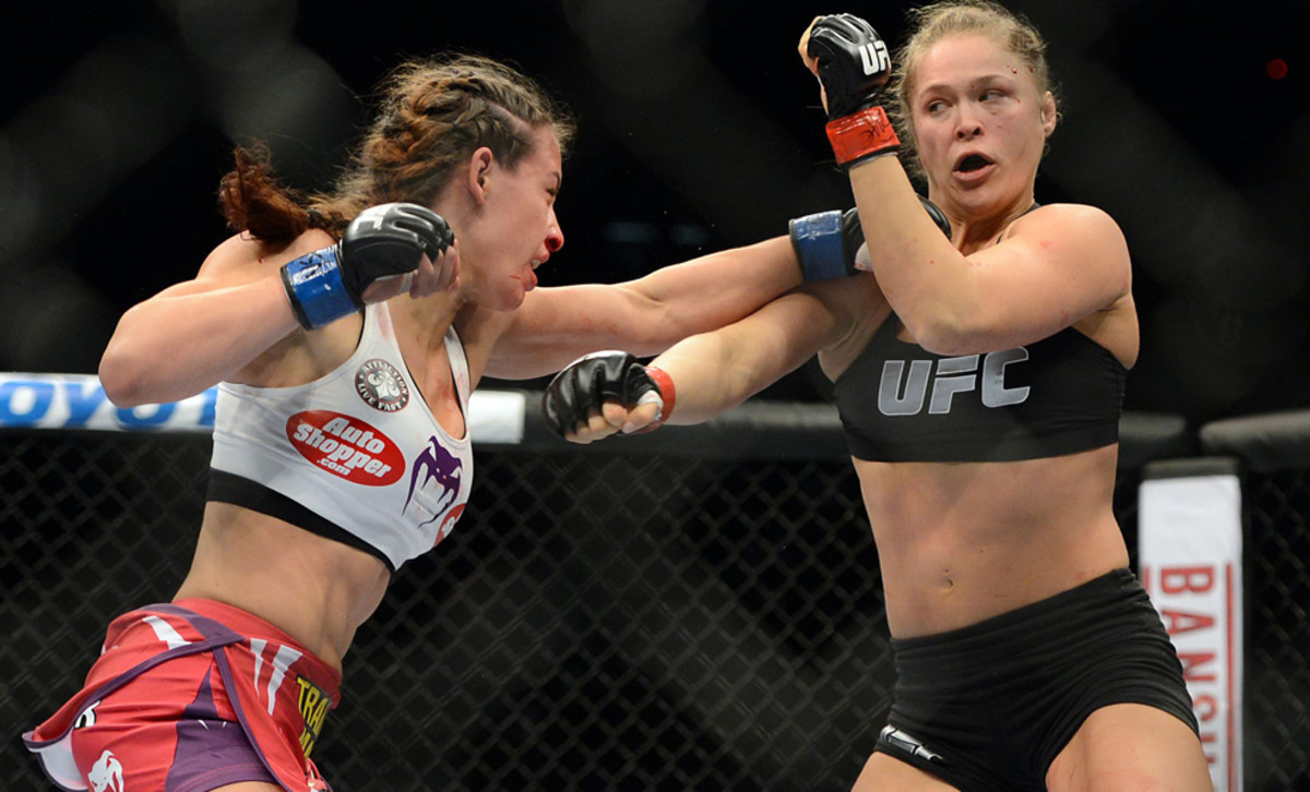 Tate vs Rousey - MMA Fighters