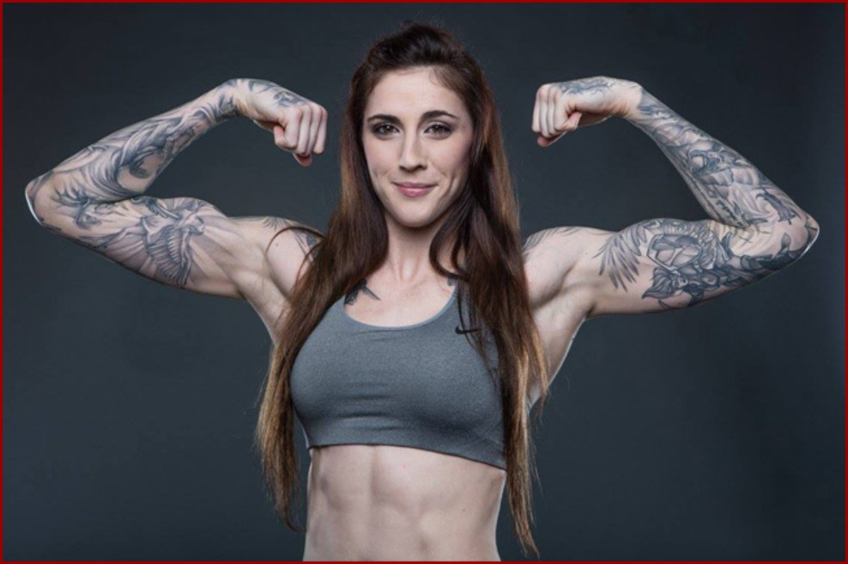 MMA Fighter Megan Anderson