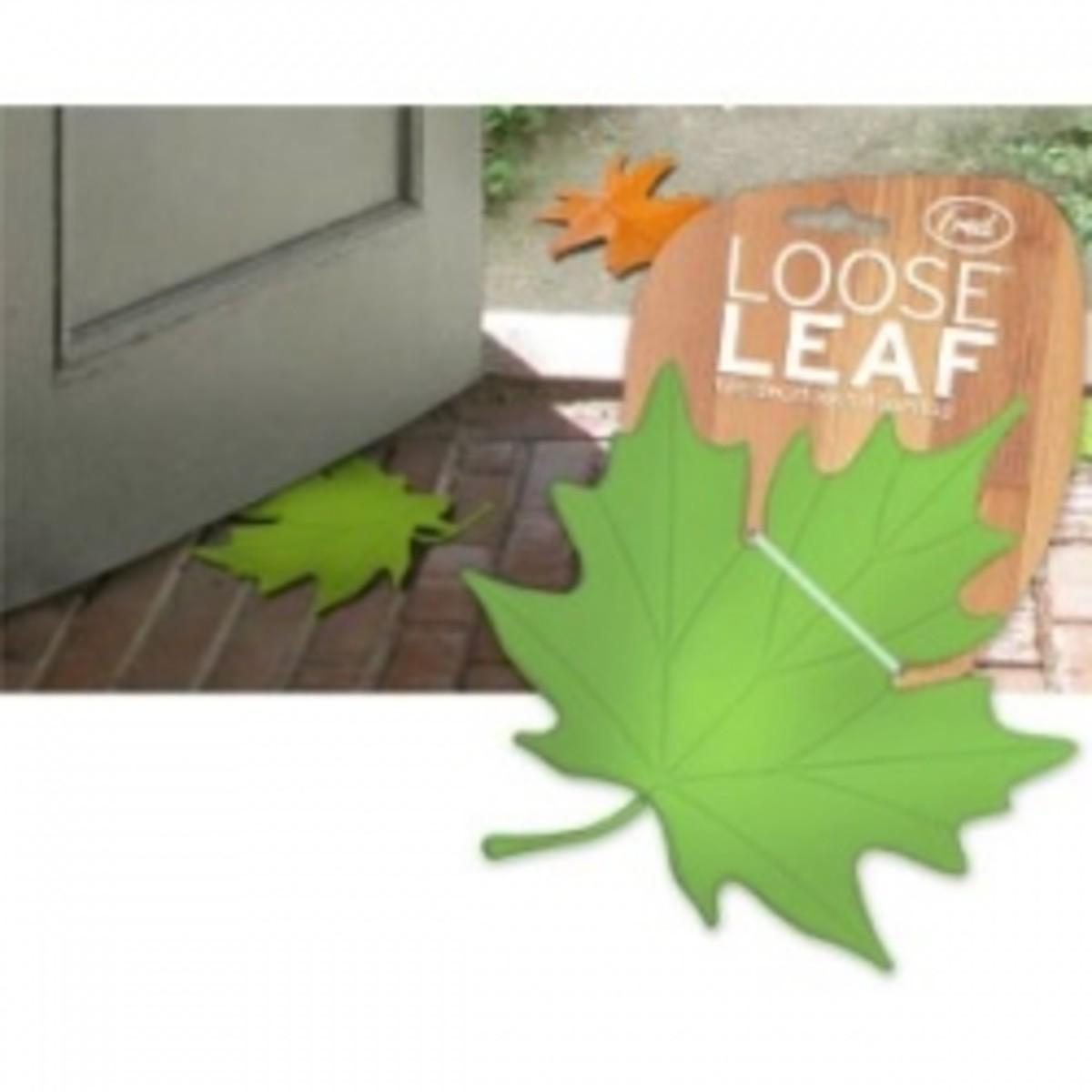 Loose Leaf Door Stop