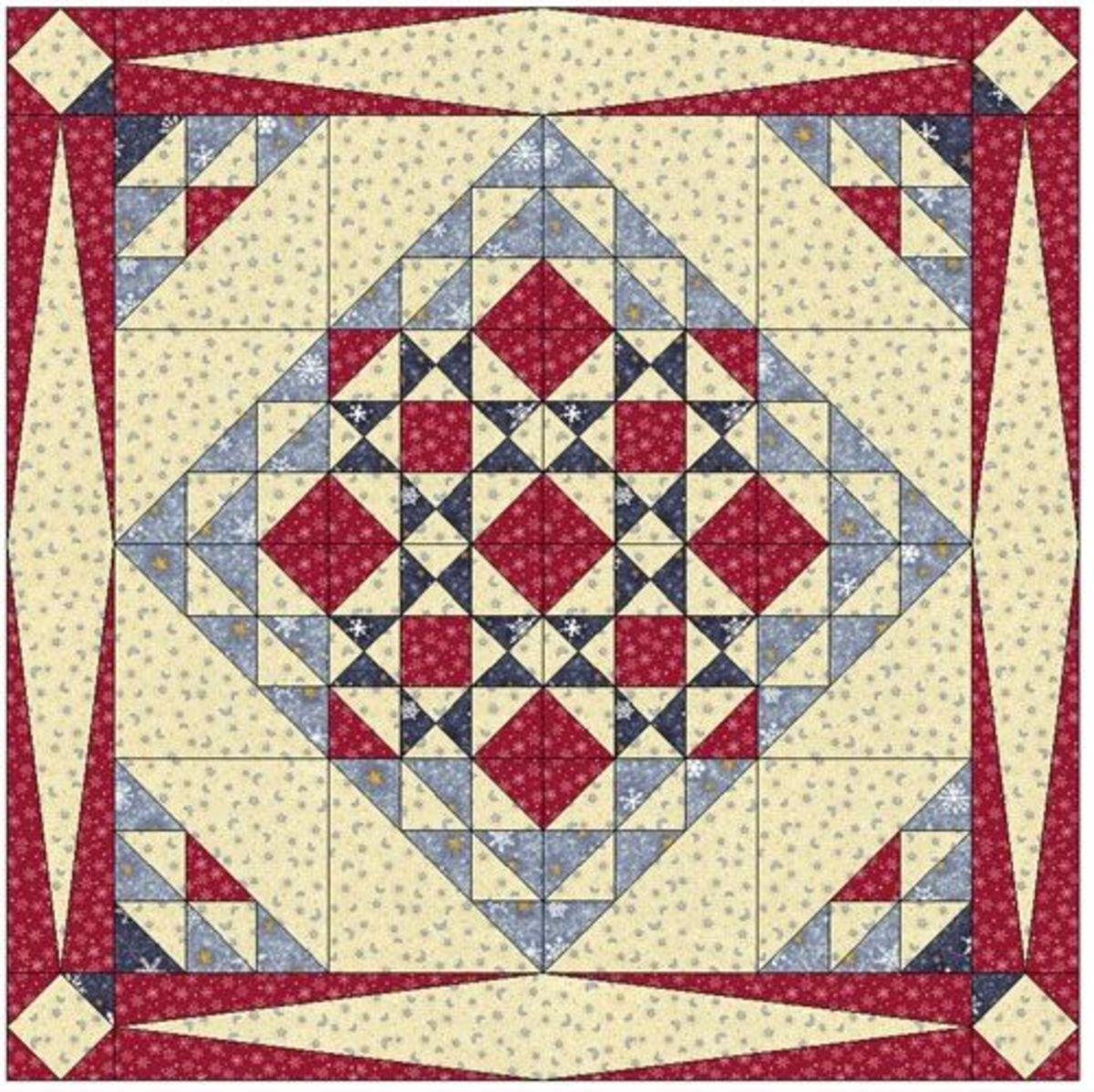 Quilt layout/design