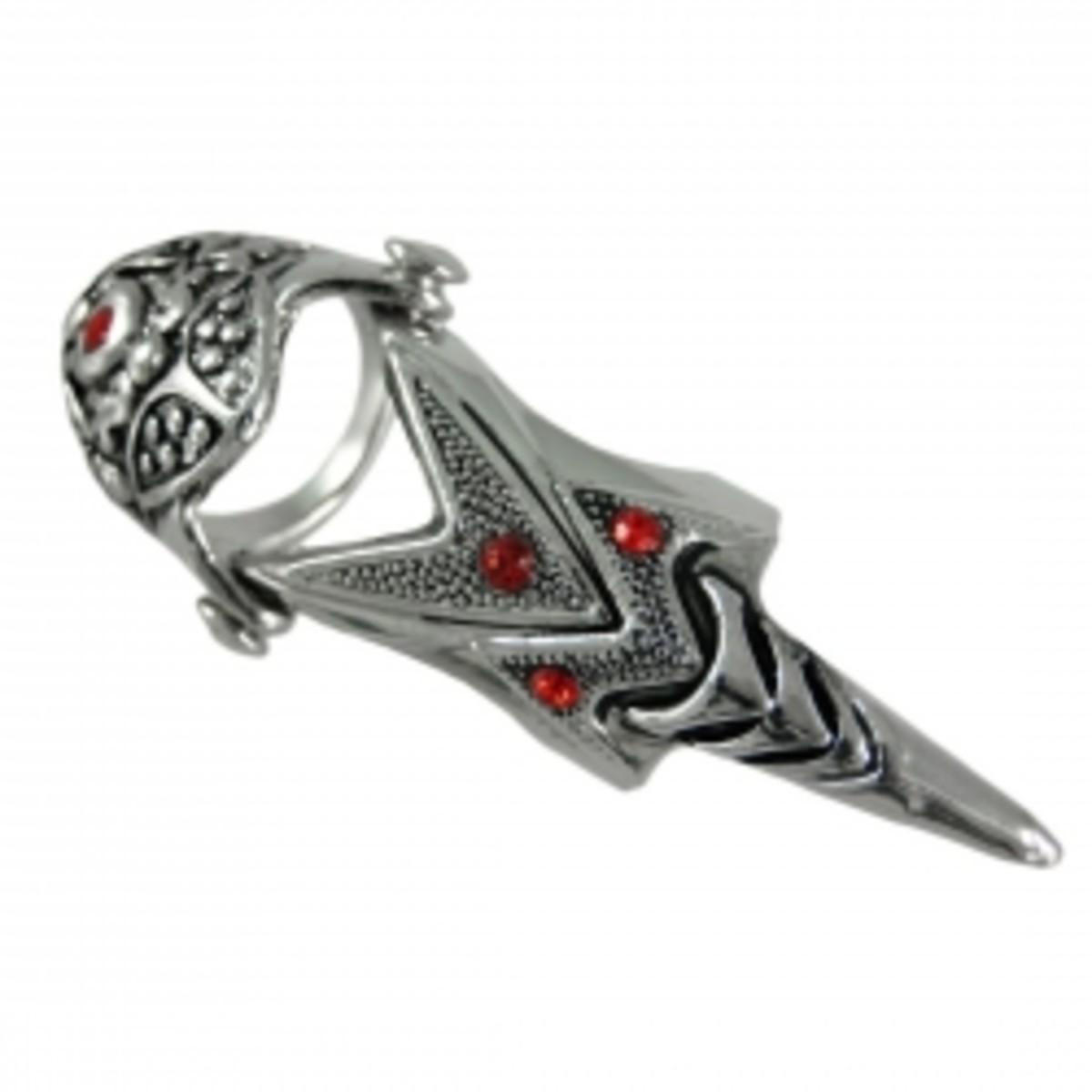 Armor Ring - Full Finger Armor Rings with Distinction