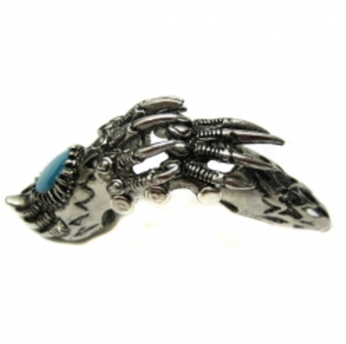 Claw-and-Gemstone-Armor-Ring