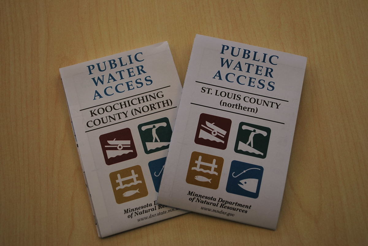 DNR Water Access maps are available.