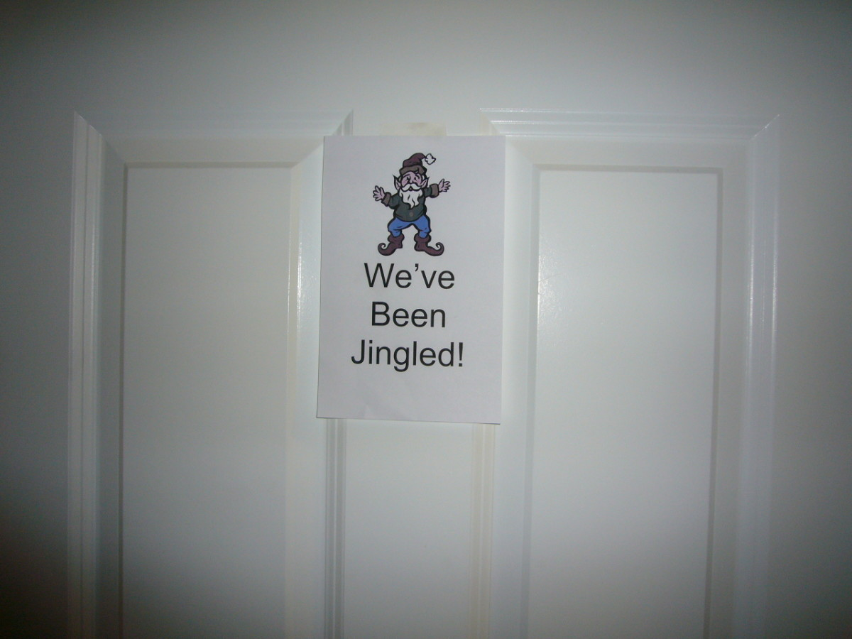 We've Been Jingled Sign