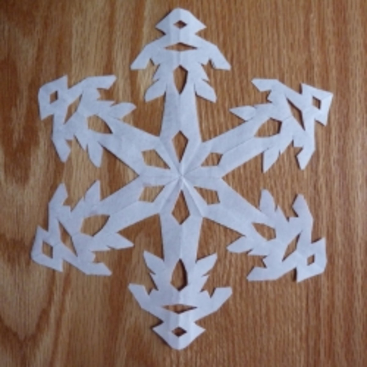 Instructions for Making Paper Snowflakes