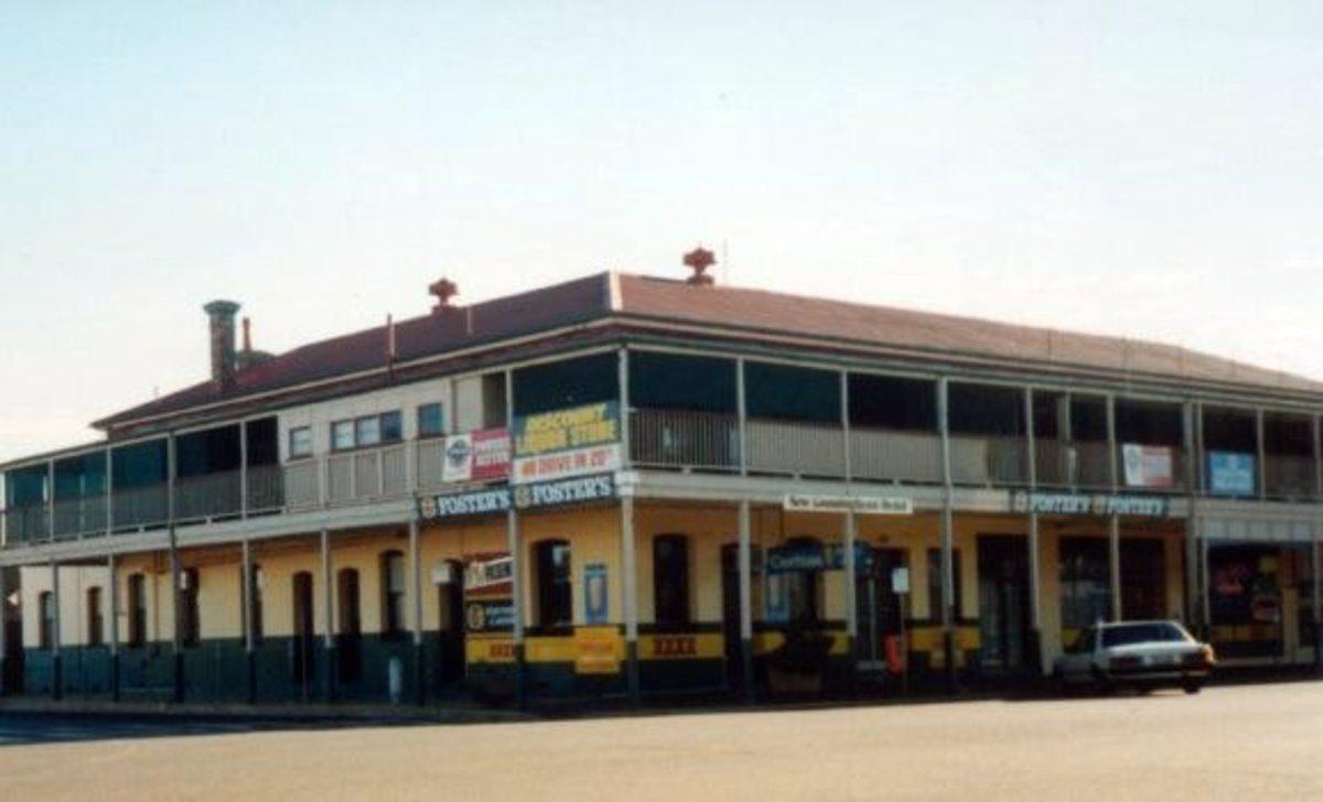 Golden Fleece hotel, Dalby, Qld, 1990s