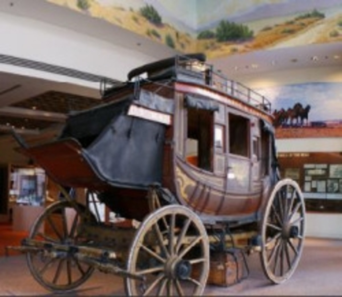 Another glimpse into American history, from the Wells Fargo Museum in Los Angeles, CA.
