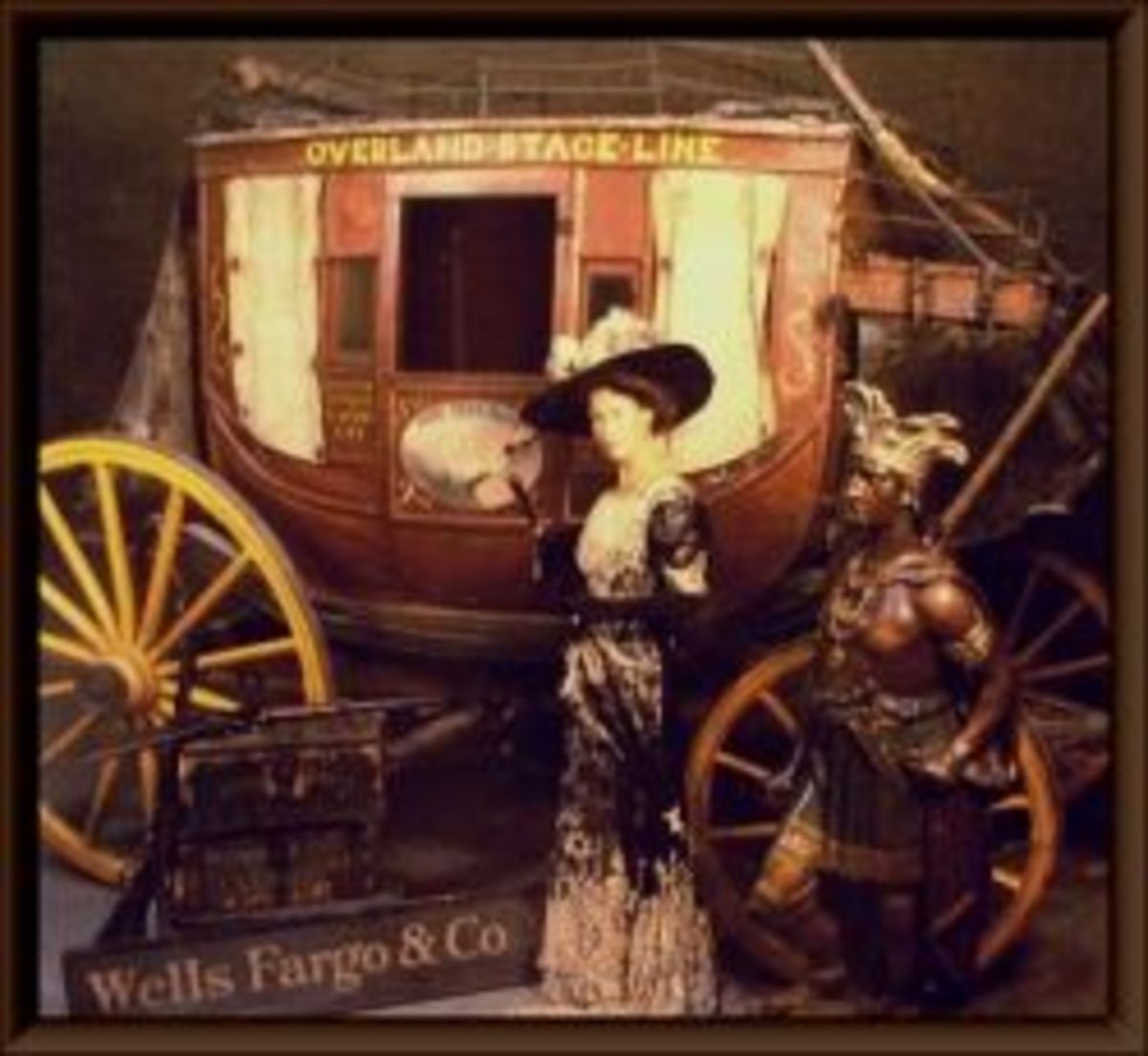Antique Abbot & Downing Stagecoach