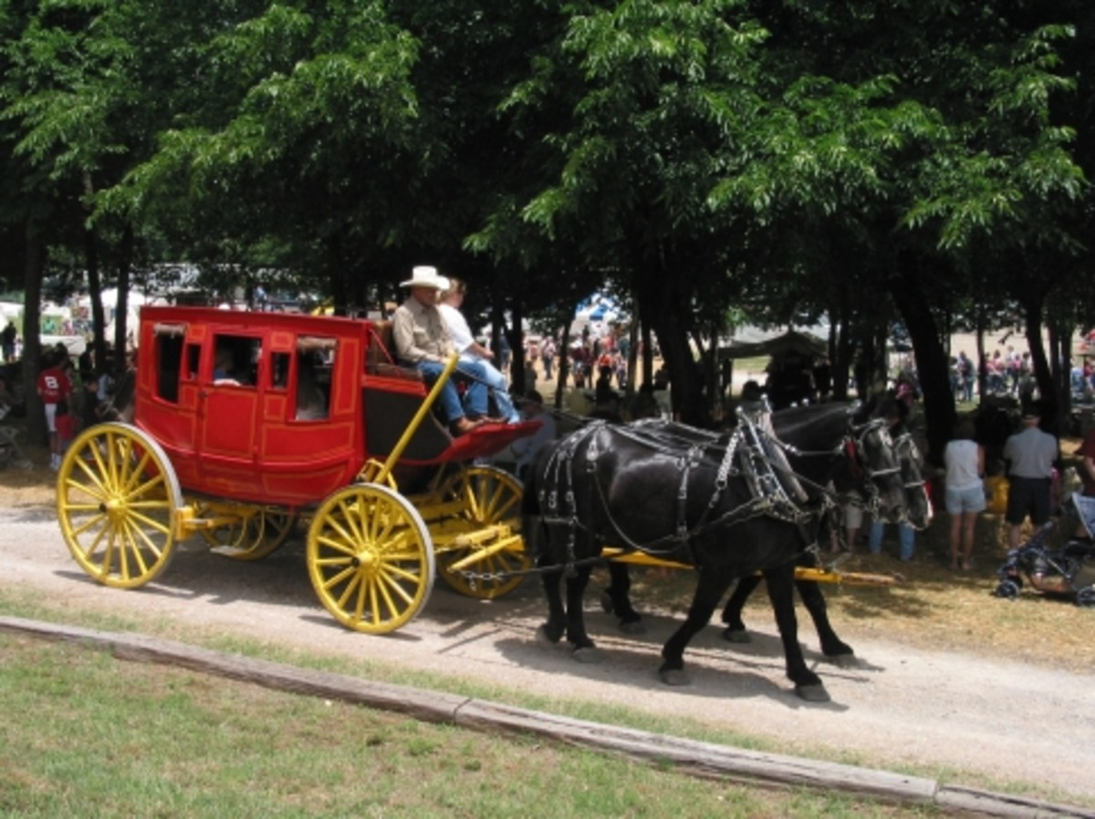 Stagecoaches rides in Oklahoma City